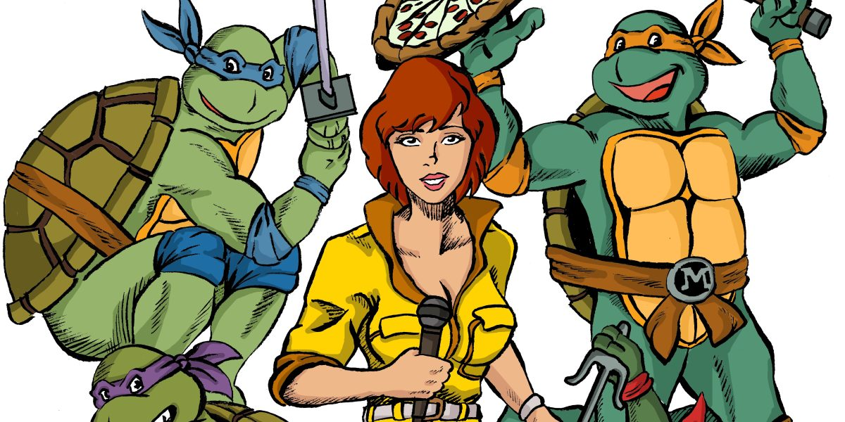 Back to the '80s: The Dark Crystal and Teenage Mutant Ninja Turtles Fan Art