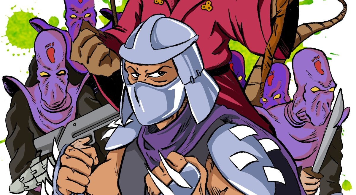 TMNT Fan Art Part 2: Master Splinter, The Shredder, and Foot Soldiers